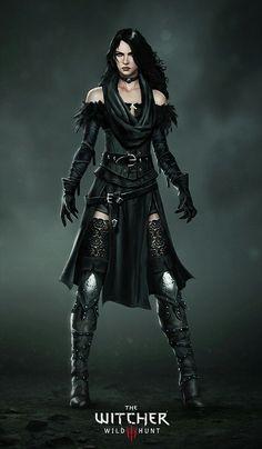 Lady Yennefer of Vengerberg #witcher