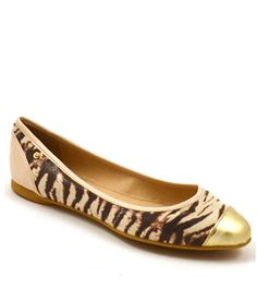 Compassion Couture- Neuaura- Avery- Zebra Print Flats