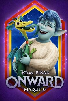 Trailers, TV spots, clips, featurette, images and posters for the Disney/Pixar animated film ONWARD 2020 Movies, Pixar Movies, New Movies, Disney Movies, Movies Online, Films Netflix, Fantasy Films, Zombieland, Tv Series Online