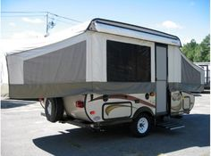 Get most affordable deals on Cheap Used 2013 ‪#‎Coachmen‬ Viking epic ‪#‎Folding_camper‬ by Dufours RV Center in MA, USA. This very gently used 2013 Forest River Viking 1604SG Folding Trailer is lightweight, easy to tow and offers plenty of living space & storage space. It has a sleeping capacity for 7 people. It has ace, 3 burner stovetop, 3-way refrigerator, cassette toilet, outside shower There's ample storage space throughout the trailer. For more information visit at…