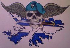 Comando argentino de alto calibre para estampar en la espalda. Falklands War, Police, Army, Military, War, Stampin Up, Buenos Aires Argentina, Gi Joe, Law Enforcement