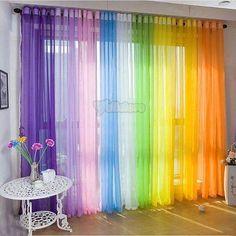 Cortinas arco iris