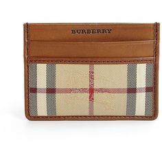 Burberry Horseferry Credit Card Case (11.205 RUB) ❤ liked on Polyvore featuring men's fashion, men's bags, men's wallets, apparel & accessories, mens leather card case wallet, mens leather credit card holder wallet, mens wallet, mens leather wallets and mens card case wallet