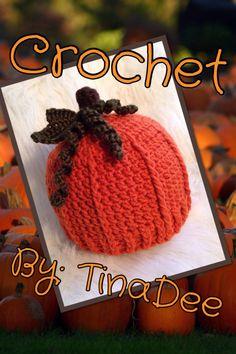 Crochet By: TinaDee Pumpkin hat