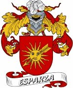 De Esparza Spanish Coat Of Arms www.4crests.com #coatofarms #familycrest #familycrests #coatsofarms #heraldry #family #genealogy #familyreunion #names #history #medieval #codeofarms #familyshield #shield #crest #clan #badge #tattoo #crests #reunion #surname #genealogy #spain #spanish #shield #code #coat #of #arms