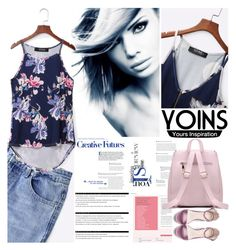 """Yoins"" by vaslida ❤ liked on Polyvore featuring Arche, yoins and loveyoins"