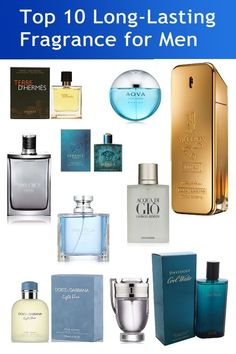 10 Best Long-Lasting Perfumes/Fragrance for Men 2019 - Men& Perfumes Best Perfume For Men, Best Fragrance For Men, Best Fragrances, Mens Perfume, Best Mens Cologne, Long Lasting Perfume, Popular Perfumes, Aftershave, Men Style Tips