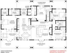 Craftsman House Plan Chp 25182 At COOLhouseplans