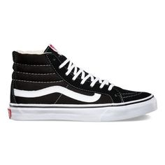 Vans High Tops Black And Grey
