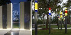 Buchanan Park War Memorial. QLD. 2015 - Dot Dash