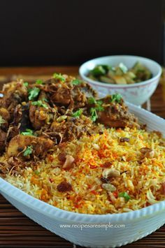 Nasi Biriyani - Singapore & Malaysia Style Tasty Biriyani Recipe!
