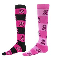 c1bcb23fe6c Ribbon Rugby Knee Socks. Knee SocksBreast Cancer AwarenessRugbyKnee Highs