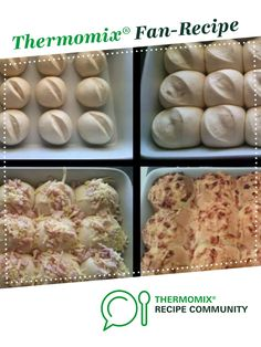 Recipe Cheese & Bacon Bread Rolls - Thermomumma by _b_e_v_, learn to make this recipe easily in your kitchen machine and discover other Thermomix recipes in Breads & rolls. Savoury Recipes, Paleo Recipes, Cheese And Bacon Rolls, Cooking Ideas, Cooking Recipes, Thermomix Bread, Australian Food, Lunchbox Ideas, School Lunches