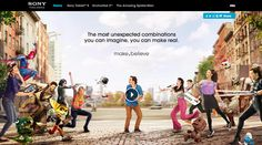 Site of the day 15 May 2012  http://experience.sony.com/#home  Sony make.believe