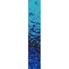FROZEN  - LOOM beading pattern for cuff bracelet SALE