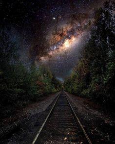 """infinityvisions: """"one_santi The vlak právě odešel """""""