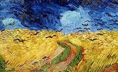 Crows in a Cornfield - Vincent Van Gogh