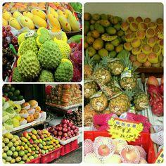 Tropical fruits in Sanya! #SanyaPhotoCollage #SanyaHeartstoHearts