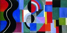 Sonia Delaunay, Syncopated rhythm, so-called The Black Snake 1967 Musée des Beaux-Arts, Nantes, France© Pracusa 2014083