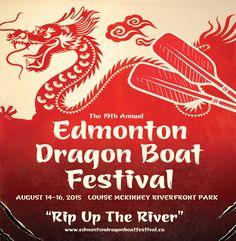 2015 Edmonton Dragon Boat Festival