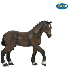 French Saddle Horse by Papo