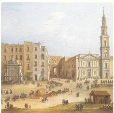Antonio Joli piazza mercato