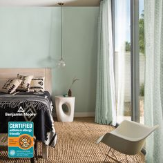 90 Best Home Decor Ideas Palladian Blue Benjamin Moore, Benjamin Moore Bedroom, Benjamin Moore Exterior, Benjamin Moore Colors, Light Paint Colors, Best Paint Colors, Best Bedroom Colors, Bedroom Styles, Minimal Decor