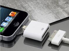 IPHONE 5 ADAPTADOR LIGHTNING 8 pin a 30 pin para cargar y transfencia de datos. iPHONE 5 ADAPTER LIGHTNING 8 pin to 30 pin charger and data sync. B00C23LELC - http://www.comprartabletas.es/iphone-5-adaptador-lightning-8-pin-a-30-pin-para-cargar-y-transfencia-de-datos-iphone-5-adapter-lightning-8-pin-to-30-pin-charger-and-data-sync-b00c23lelc.html