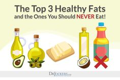 Top 3 Healthy Fats & Which Fats to NEVER Eat - DrJockers.com
