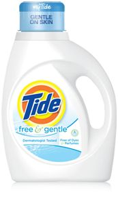 my favorite laundry detergent. no added scents (other than CLEAN! haha) or chemical, just the basics...