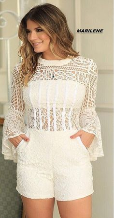 Pin by nouma khan on lace attires Casual Wear, Casual Outfits, Cute Outfits, Short Outfits, Summer Outfits, Look Fashion, Womens Fashion, Ideias Fashion, Fashion Dresses