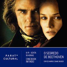 """O Cinebook Infindo, da Associação Paraty Cultural em parceria com a Prefeitura de Paraty, exibe nesta quinta, 5, o filme """"O Segredo de Beethoven"""".  Entrada gratuita. Não perca!  #CasaDaCultura #CasaDaCulturaParaty #exposição #fotografia #música #cultura #turismo #arte #VisiteParaty #TurismoParaty #Paraty #PousadaDoCareca #ParatyCultural #filme #cinema #CinebookInfindo #CinebookInfindoParaty #OSegredoDeBeethiven #Beethoven"""