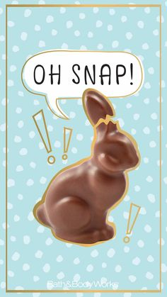 Oh, Snap! Easter iPhone Wallpaper