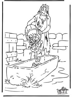 The prodigal son 3 bible jesus and his parables for Prodigal son coloring page for preschoolers