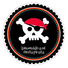 Fiesta pirata, ¡consigue tu pack de pegatinas gratis! Pirate Birthday, Pirate Theme, Pirate Flags, Party Fiesta, Happy Party, Pig Party, Diy Gifts, Party Time, Diy And Crafts