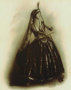 vintage bellydance costume