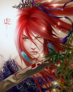 Looks like Erza! -Higo by LeoHatsuki on DeviantArt