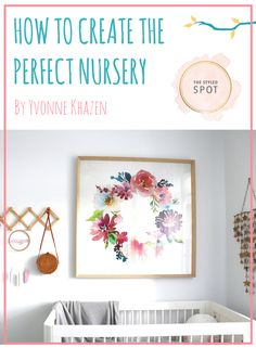 Designing your baby's nursery is one of the most exciting parts of nesting and welcoming your little one to the world! It certainly was for me – I just loved the entire process.