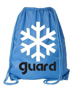 Color Guard Snowflake Light Blue Backpack *** Amazing product just a click away  : Christmas Luggage and Travel Gear