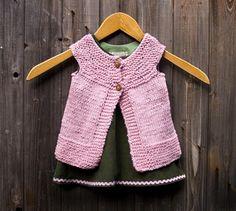 Citronille Vest Knitting Pattern...a little layered inspiration