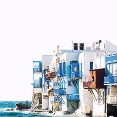 Slice of Heaven by Ante Badzim on 500px #mykonos #greece