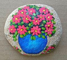 Make with kids and any other people. Seashell Painting, Pebble Painting, Pebble Art, Stone Painting, Mandala Painted Rocks, Painted Rocks Craft, Hand Painted Rocks, Painted Stones, Rock Painting Patterns