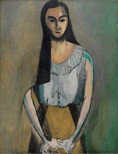 Henri Matisse - The Italian Woman, 1919
