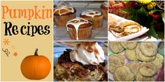 Pumpkin desserts for Thanksgiving: http://leahsthoughts.com/8-thanksgiving-dishes-that-never-fail/