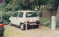 Wir haben schon in den neunzigern erfolgreich Parkraum-Umwidmung betrieben ;-) #tbt #ThrowbackThursday #Stattauto #München #CarSharing #Carsharinggesetz #neunziger