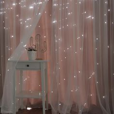 Cute Room Decor, Teen Room Decor, Room Ideas Bedroom, Bedroom Decor, Cozy Bedroom, Diy Room Ideas, Magical Bedroom, Star Bedroom, Gold Room Decor