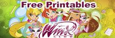 Free Winx Club Printables (Bookmarks, Stickers) Downloads, and Coloring Pages | SKGaleana
