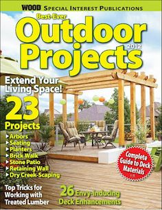 Best-Ever Outdoor Projects Magazine Edition 2012....Click the Picture Link & Get this Free!....Want More Free Stuff? - Join our Free Yahoo Club via: http://freebieclubber.com