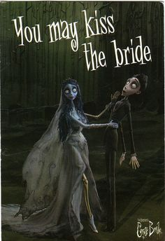 """Corpse bride. Am I the only laughing at Victor's expression in this picture, it's just all """"NOOOOOOOPE!"""""""