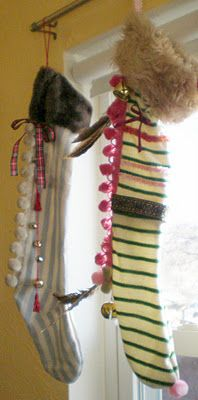 Barnum's Winter: DIY No-Knit Christmas Stockings